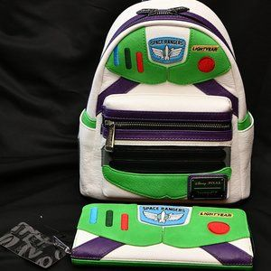 Loungefly Buzz Lightyear Backpack&Wallet